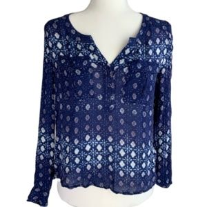 Ecote Urban OutfittersFloral Print Blouse size S